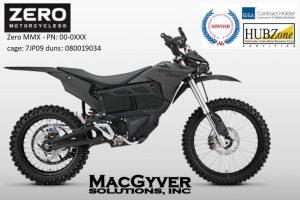 Zero MMX Electric Motorcycle