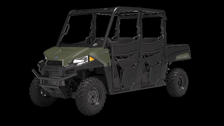 Polaris Ranger Crew 570-4 Utility Vehicle from MacGyver Solutoins