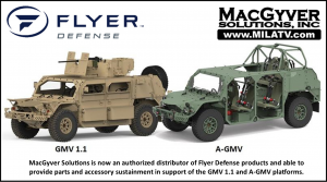 Flyer Defense Appoints MacGyver Solutions as an Authorized Distributor for GMV 1.1 and A‐GMV Parts and Accessories